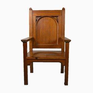 Grande Chaise en Chêne Massif