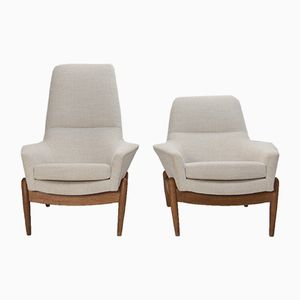 Lounge Chairs by IB Kofod Larsen for Bovenkamp, 1960s, Set of 2