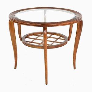 Table Basse Mid-Century en Hêtre, Italie, 1950s