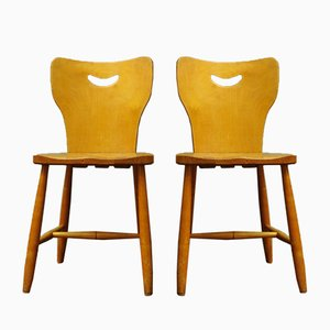 Vintage Swedish Chairs, 1948, Set of 2