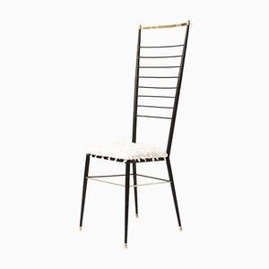Highback Stuhl von Gastone Rinaldi, 1950er