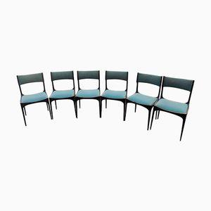 Italian Mid-Century Chairs by Giuseppe Gibelli for Luigi Sormani, 1960s, Set of 6