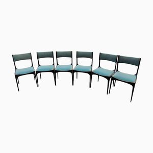 Italian Mid-Century Chairs by Giuseppe Gibelli for Sormani, 1960s, Set of 6