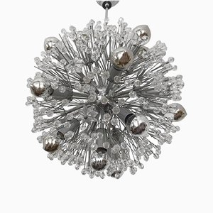 Sputnik Snowball Chandelier by Emil Stejnar for Rupert Nikoll, 1950s