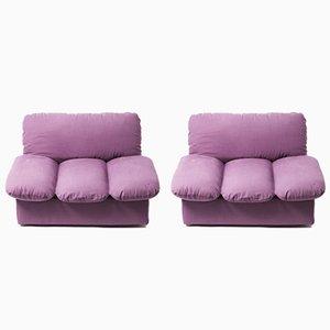 Modulares Zweiteiliges Vintage Cento per Cento Sofa von De Pas, D'Urbino & Lomazzi für Zanotta