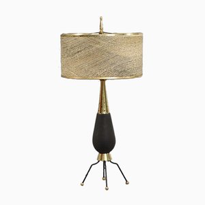 Table Lamp with Ceramic Base, 1960s