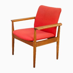 Danish Teak Diplomat Chair by Finn Juhl for France & Søn, 1960s