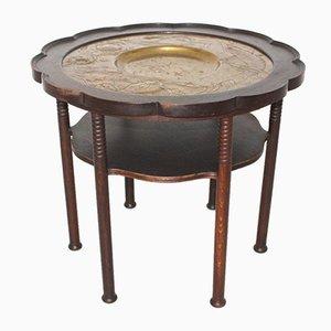 Tavolino da caffè antico viennese