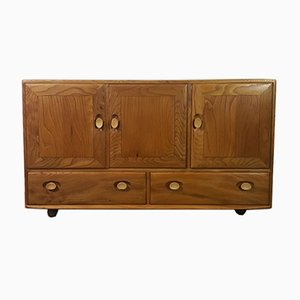 Windsor Sideboard on Castors by Lucian Ercolani for Ercol, 1960s