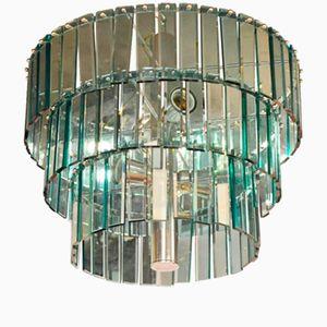 Italian Murano Glass Chandelier, 1970s