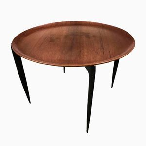 Round Coffee Table by Engholm & Willumsen for Fritz Hansen