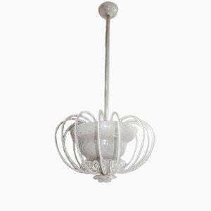 Italian Murano Glass Pendant, 1940s
