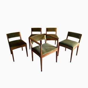 Esszimmerstühle von Edward Barnsley, 1978, 5er Set