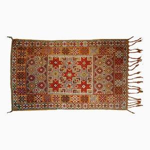 Antiker Handgemachter Marokkanischer Berber Teppich, 1900er