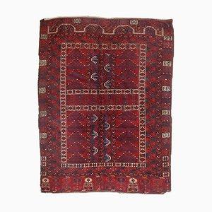 Antiker Handgemachter Turkmenischer Engsi Teppich, 1870er