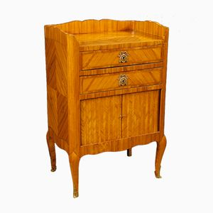 Inlaid French Nightstand, 1880s