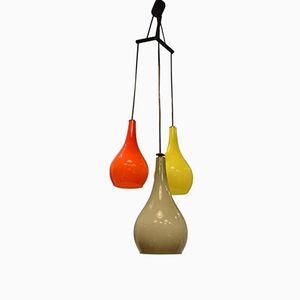 Murano Glass Ceiling Light from Stilnovo, 1960s