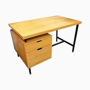 French Ash Desk by Pierre Guariche, 1960s