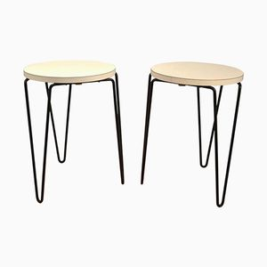 Mid-Century Modern American N°75 Stools by Florence Knoll for Knoll, Set of 2