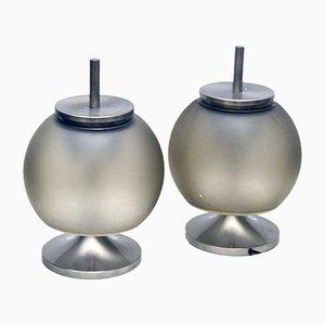 Chi Table Lamps by Emma Gismondi Schweinberger for Artemide, 1962, Set of 2
