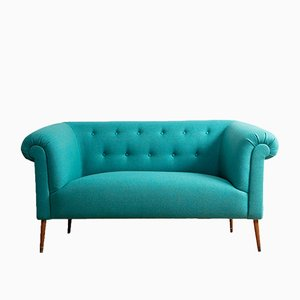 Vintage Sofa im Chesterfield Stil