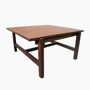 Mesa de centro vintage de teca y formica reversible de Pastoe