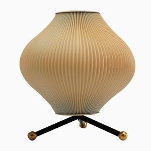 Lámpara de mesa francesa de Rispal, años 50