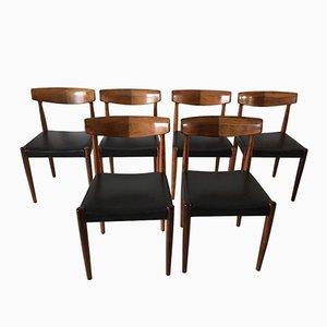 Chaises de Salon en Palissandre de Bovenkamp, 1960s, Set de 6