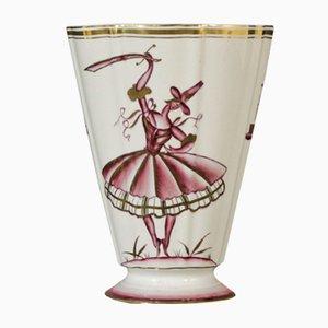 Ceramic Vase by Guido Andlovitz for Lavenia, 1930s