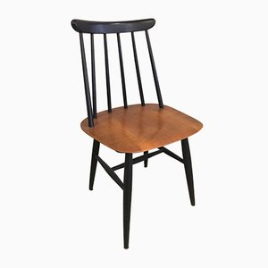 Fanett Chairs by Ilmari Tapiovaara for Edsbyverken, 1980, Set of 4