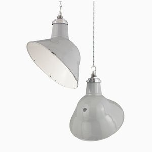 Lampada a sospensione industriale vintage di Thorlux