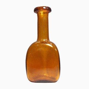 Vintage Glass Bottle by Erik Höglund for Kosta