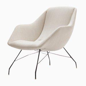Brasilianischer Vintage Shell Sessel von Carlo Hauner