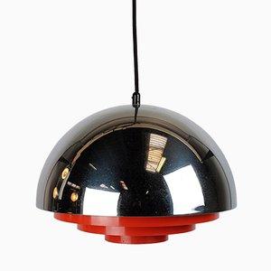 Lampe à Suspension Milieu Mid-Century par Jo Hammerborg pour Fog & Mørup
