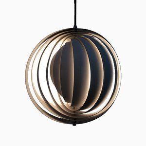 Mid-Century Danish Moonlight Pendant by Verner Panton