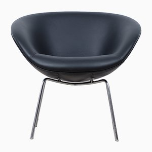 Vintage Danish Model 3318 Chair by Arne Jacobsen for Fritz Hansen