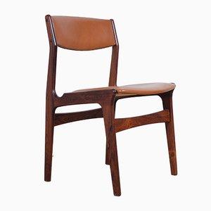 Dänische Esszimmerstühle aus Palisander & Kunstleder von NOVA, 1960er, 4er Set