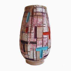 Italian Ceramic Vase from Fratelli Fanciullacci, 1960s