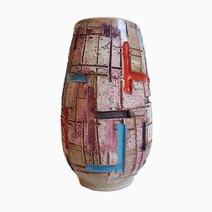 Italienische Vintage Keramik Vase von Fratelli Fanciullacci, 1960er