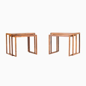 Danish Rosewood Nesting Tables, 1960s, Set of 2