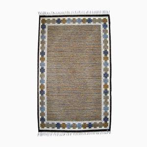 Flat Weave Rölakan Carpet by Ingegerd Silow, 1960s