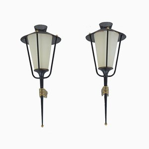 Wall Lights from Arlus, 1950s, Set of 2