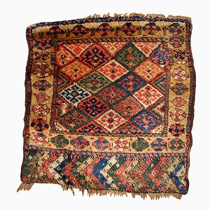 Handgefertigter antiker orientalischer Bag Face Teppich, 1880er