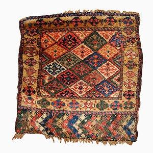 Tapis Bag Face Antique Fait Main, Moyen-Orient, 1880s