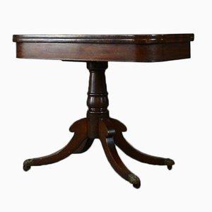 Table de Jeu en Acajou 19ème Siècle