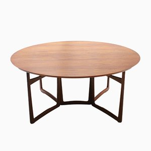 Drop Leaf Dining Table by Hvidt & Mølgaard for France & Daverkosen, 1960s