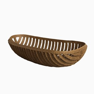 Ribbed Organic Bowl by Domingos Tótora