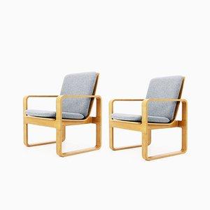 Vintage Sessel von Magnus Olesen, 2er Set