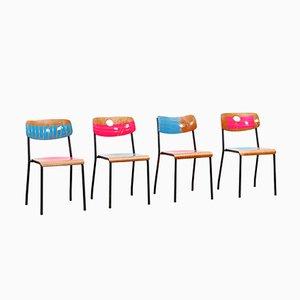 Loyalty Is Royalty Stühle von Markus Friedrich Staab, 4er Set