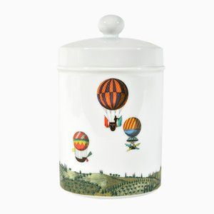 Vintage Porcelain Jar by Piero Fornasetti for Rosenthal
